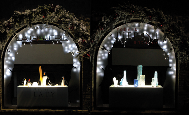Idee decoration de noel vitrine for Decoration vitrine noel exterieur