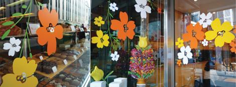 Printemps archives design et nous - Decoration vitrine printemps ...