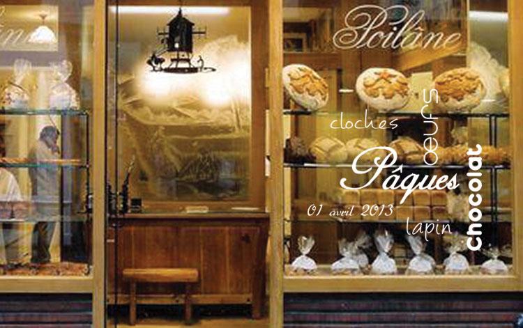 Des stickers tendances et modernes pour vos vitrines de p ques design et nous - Decoration paques vitrine ...