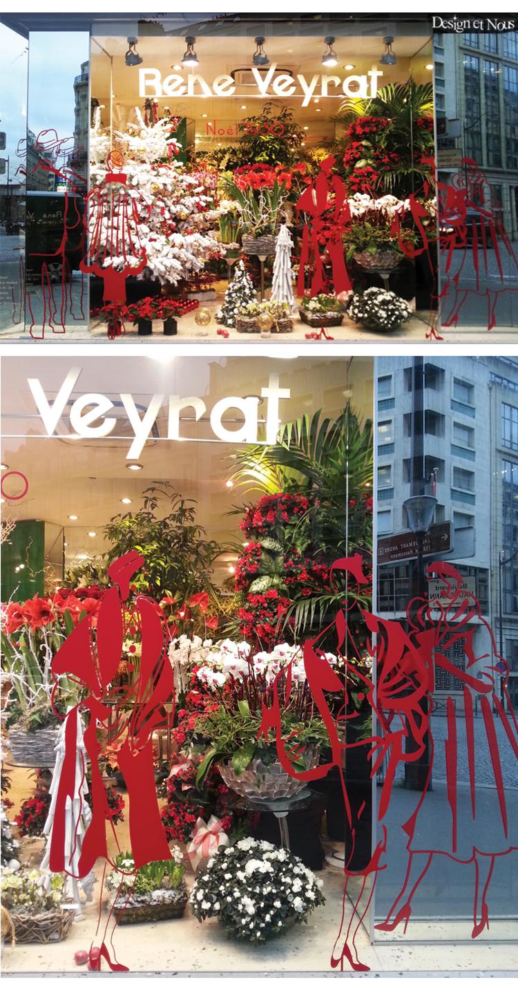 Decoration De Vitrine Promotion De Noel