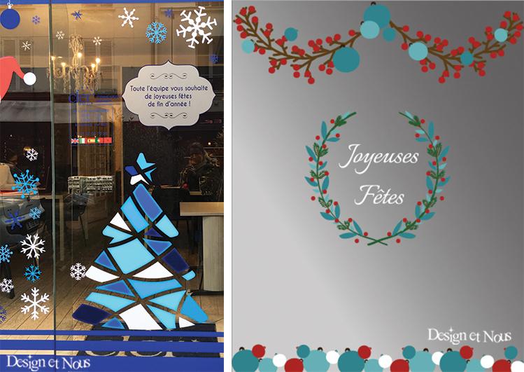Kit Creation Boule De Noel.Une Décoration De Noël Pour Des Vitrines Féerique Avec Des