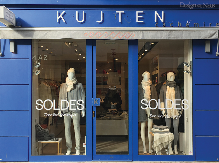 SOLDES KUJTEN STICKER VITROPHANIE SPECIALE PROMOTIONS